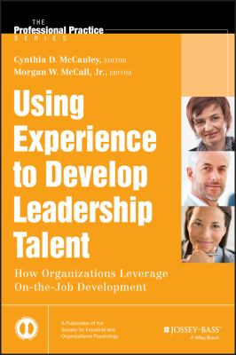 Book jacket for Using Experience to Develop Leadership Talent