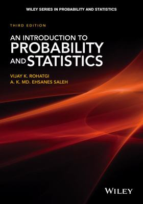 book cover: An Introduction to Probability and Statistics