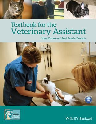 Book cover of Textbook for the Veterinary Assistant - click to open in a new indow