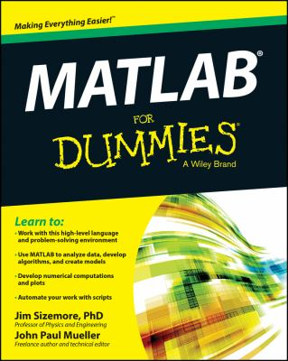 book cover: MATLAB for Dummies