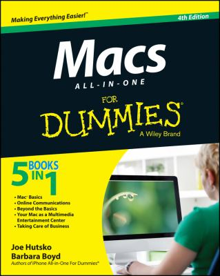 Macs All-in-One for Dummies® Cover Art