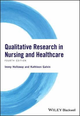 Qualitative Research in Nursing and Healthcare Cover