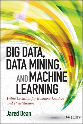 book cover: Big Data, Data Mining, and Machine Learning