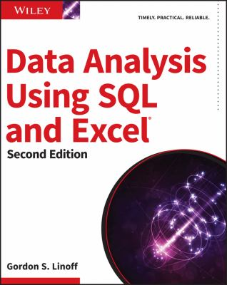 book cover: Data Analysis Using SQL and Excel