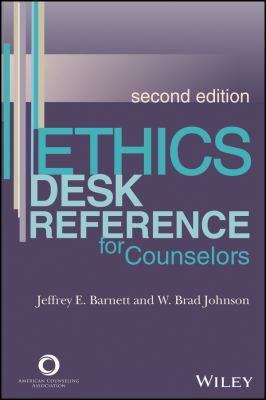 Cover art of Ethics Desk Reference for Counselors