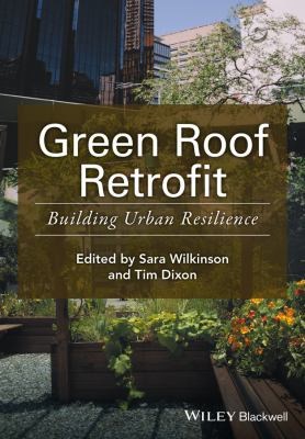 Book Cover : Green Roof Retrofit : building urban resillience