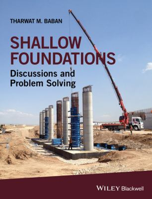 book cover: Shallow Foundations