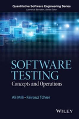 book cover: Software Testing