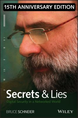book cover: Secrets and Lies: digital security in a networked world