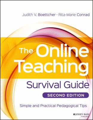[Book Cover] The Online Teaching Survival Guide