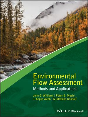 book cover: Environmental Flow Assessment:  methods and applications