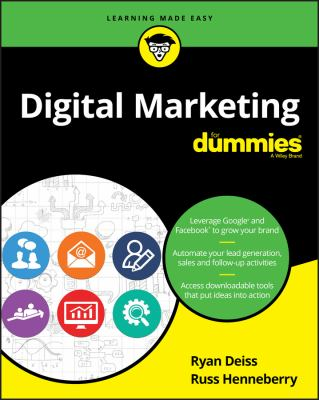 Digital Marketing for Dummies Cover Art