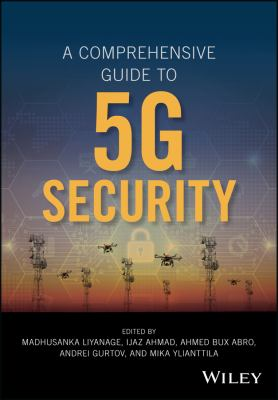 book cover: A Comprehensive Guide to 5G Security
