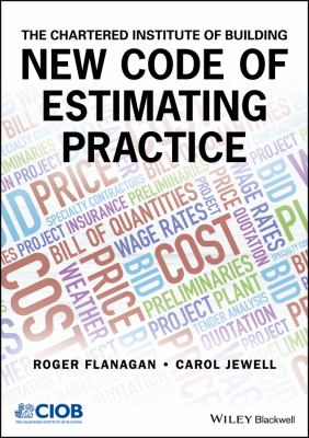 book cover: New Code of Estimating Practice
