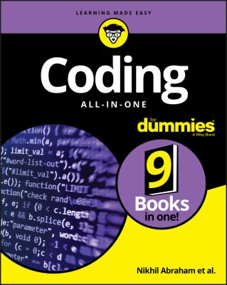 Cover of Coding All-In-One for Dummies