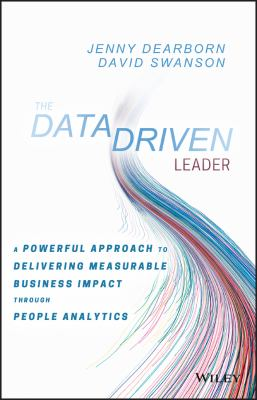book cover: The Data Driven Leader