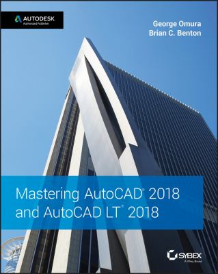 Cover of Mastering AutoCAD 2018 and AutoCAD LT 2018