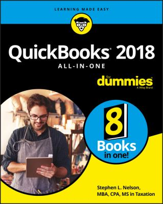 QuickBooks 2018 AIO for Dummies - Opens in a new window