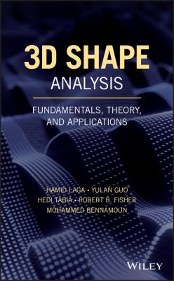 book cover: 3D Shape Analysis