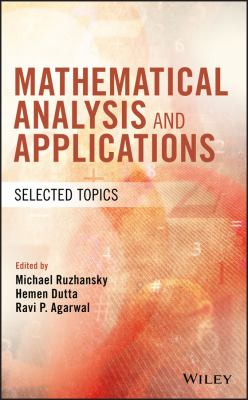 book cover: Mathematical Analysis and Applications