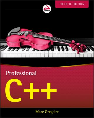 book cover: Professional C++