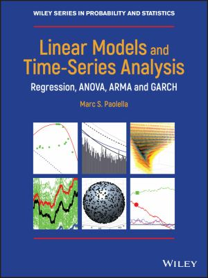 book cover:Linear Models and Time-Series Analysis