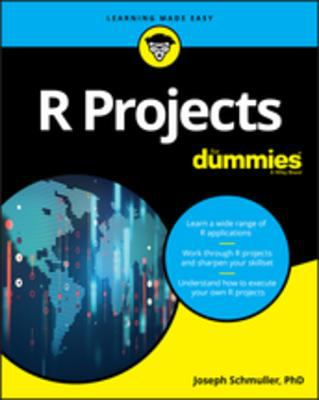 book cover: R Projects for Dummies