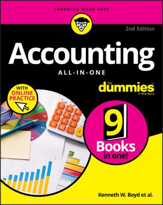 Accounting All-In-One for Dummies - Opens in a new window