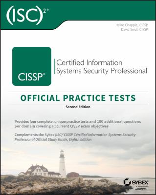 book cover: CISSP Official (ISC)2 Practice Tests
