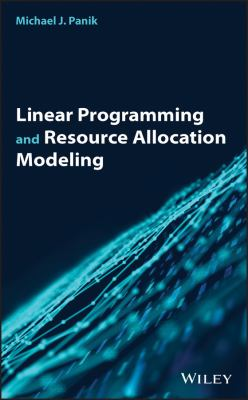 book cover Linear Programming and Resource Allocation Modeling