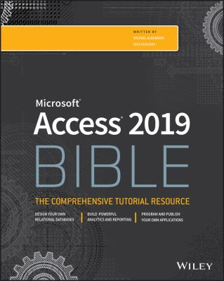 book cover: Access 2019 Bible