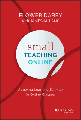 [Book Cover] Small Teaching Online