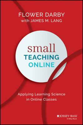 book cover small teaching online