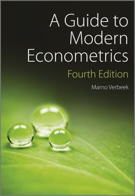 A Guide to Modern Econometrics, Fourth Edition, Marno Verbeek.