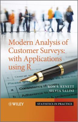 book cover: Modern analysis of customer surveys : with applications using R