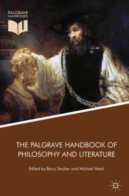 Cover Art for The Palgrave Handbook of Philosophy and Literature