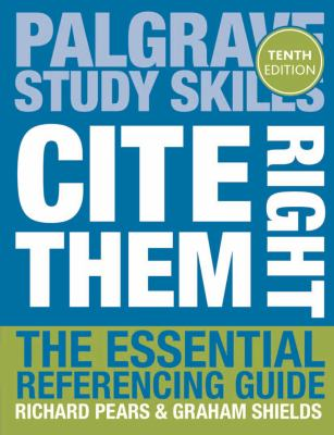 Cite Them Right book cover