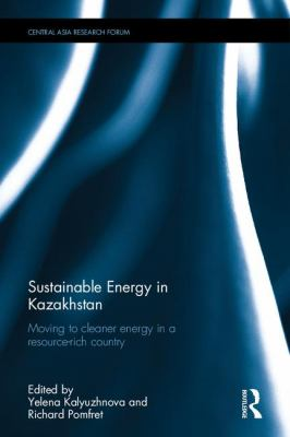 book cover: Sustainable Energy in Kazakhstan