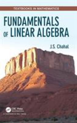 book cover: Fundamentals of Linear Algebra