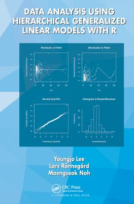 book cover: Data Analysis Using Hierarchical Generalized Linear Models with R