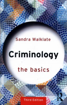 Criminology: the Basics Cover