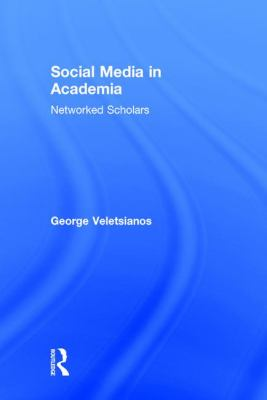 Social Media in Academia by Veletsianos book cover.