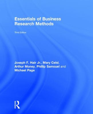 The Essentials of Business Research Methods - Opens in a new window