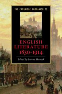 Cover Art The Cambridge Companion to English Literature, 1830-1914