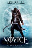 Novice book cover
