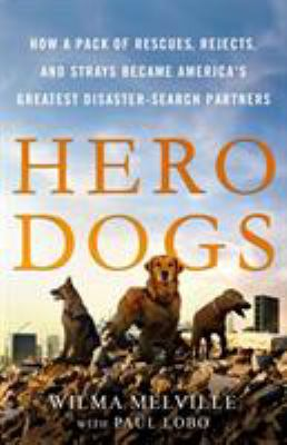 Book cover for Hero dogs.