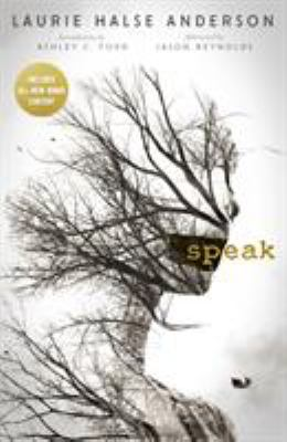 Cover image of Speak depicting a female head and torso made of tree branches.