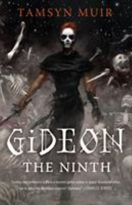 Book cover for Gideon the ninth.