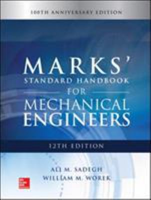 Book title: Marks' Standard Handbook for Mechanical Engineers