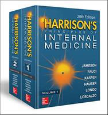 Harrison's Principles of Internal Medicine book cover